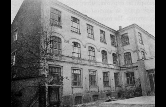 Orphanage, Zubovskii Boulevard 21, 1979. Photograph: PastVu