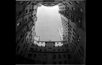 Courtyard of