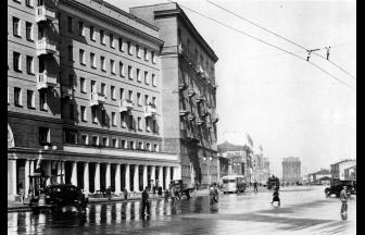 1st Meshchanskaya Street, 1935-1940. Photograph: PastVu