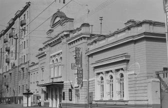 Улица Большая Ордынка, дом 69. 1980-е гг. Фото: pastvu.com