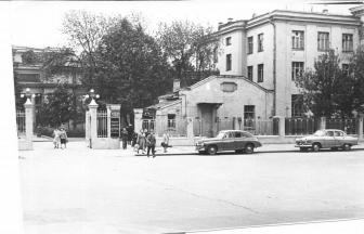 Botkin Hospital at the end of 1950s. Photo: PastVu