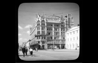 """Mostorg at the beginning of the 1920s. Photograph: Branson DeCou. Photojournal """"Photoelement"""""""