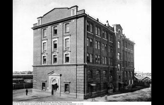 Bretskii homeless shelter named after M. Morozova, 1913. Photo: PastVu