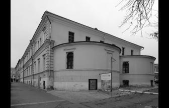 Church of Alexander Nevsky in the former Pokrovskaya House for the Poor, 81/55 Bakuninskaya Street. Photo: www.liveinternet.ru