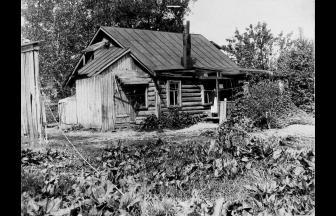 Summer house in Ostankino, 1910s. Photograph: PastVu
