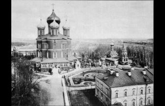 Donskoi Monastery, 1912. Photograph: PastVu