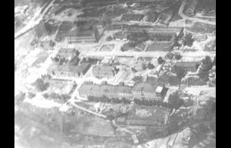 """Vladkino factory industrial area that would later become a concentration camp, early 20th century. Source: """"Tekhnika i vooryzhenie"""" 2006, No 9."""