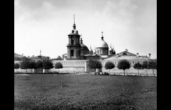 Pokrovskii Convent, N.A. Naidenov (1883).