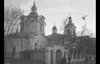 Church of St. Nicholas in Kuznetsy, 1982. Photo: PastVu
