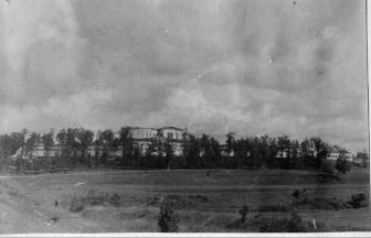 New Jerusalem, Moscow region (1943–1950). Photograph: PastVu