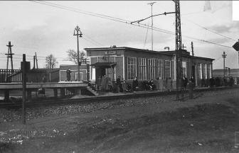 Istra Station, 1950-1960s. Source: PastVu