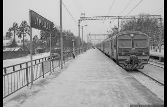 Pravda station. Photograph: Aleksandr Kamensky, kamensky.ru