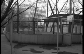 The isolation shelter named after Krylenko was most likely situated in the courtyard pictured here. Photo: sportcentrmsk.ru
