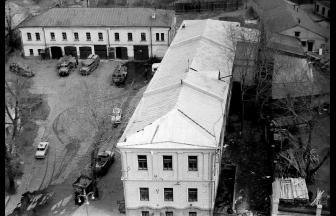 Arrest house building, 1967. Photo: PastVu