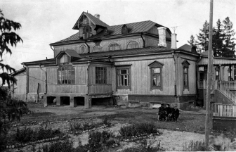Rakhmanov's house in the 1960's. Photograph: ctrlf5.livejournal.com