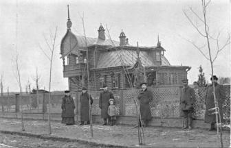 House in Novyi Sokolnik. Saltykovka Station, Sokolnicheskaya Street, 1906-1912. Photograph: PastVu