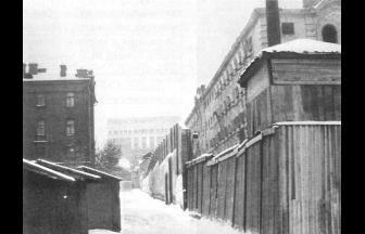 Taganskaya Prison (the end of 1950s).