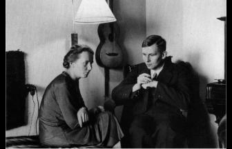 Ганс Гельман и его сестра Грета. Ок. 1930 г. Фото: damtson.wordpress.com