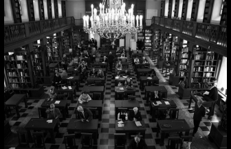 Manuscript reading room of the Lenin Library. Photo: Russian State Library