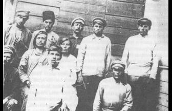 Participants of the Tambov rebellion