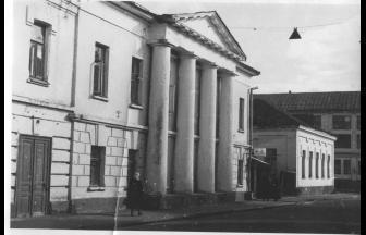 Police department, 1971. Photo: PastVu