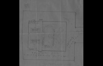 План Московской Лефортовской тюрьмы, 1920 г. Фото: ГАРФ. Ф. 4085. Оп. 11. Д. 131