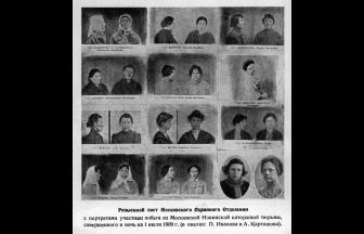 Wanted List of the Moscow Police Department