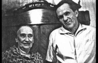 Shalamov and Nadezhda Mandelstam. Photo: shalamov.ru
