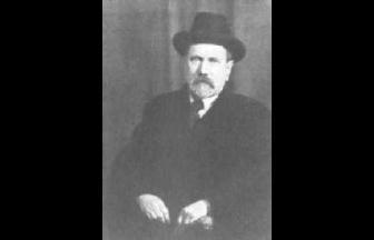Н. П. Анциферов после выхода из последнего заключения. Январь 1940 г. Фото:  Wikipedia