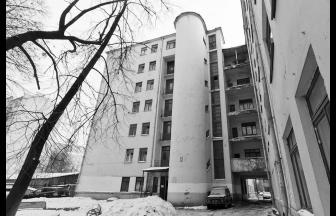 Общежитие ИКП. Современный вид. Фото: moscow-walks.livejournal.com