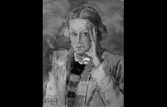 Portrait of N. A. Kastalskaya, 1950s. A. F. Sofronova. Photo: avanage.ru