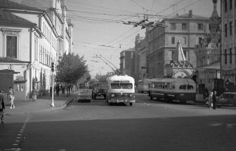 Chekhova Street, 1957. Photo: PastVu