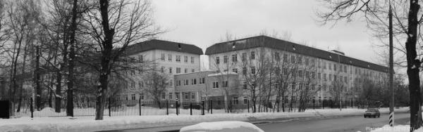 The former psychoneurological institution no. 32. Contemporary view. Photo: WikiMapia
