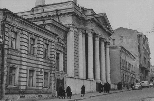 Московская хоральная синагога. 1959. Фото: retromap.ru