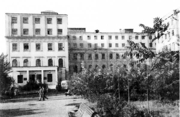 Б. Калужская, 14. 1955 г. Фото: PastVu