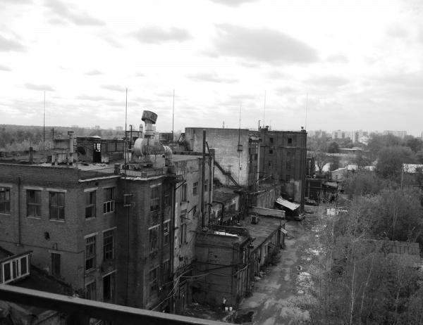 Kuskovskiy chemical factory. 2010. Photo: maria-himera-livejournal.com