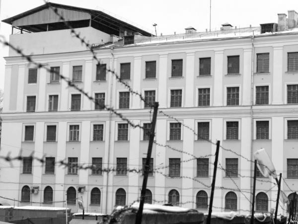 Здание Матросской Тишины сегодня. Тюремный корпус