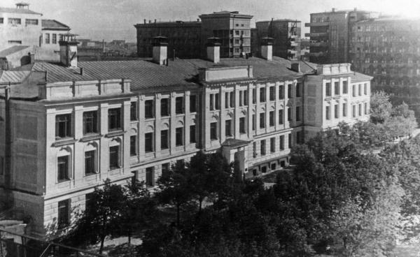 МХТИ. 1945–48 гг. Фото: PastVu