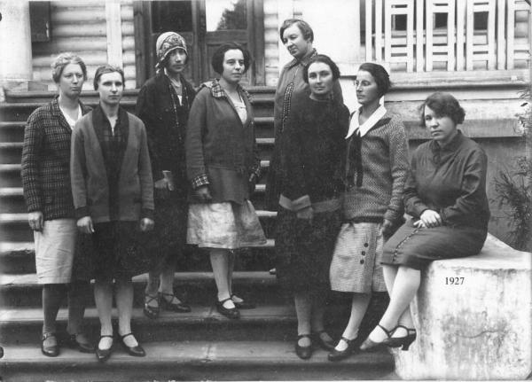 "Pupils of ""Muraveinik,"" 1927. Photograph: ""Bolshoy russkiy albom"""