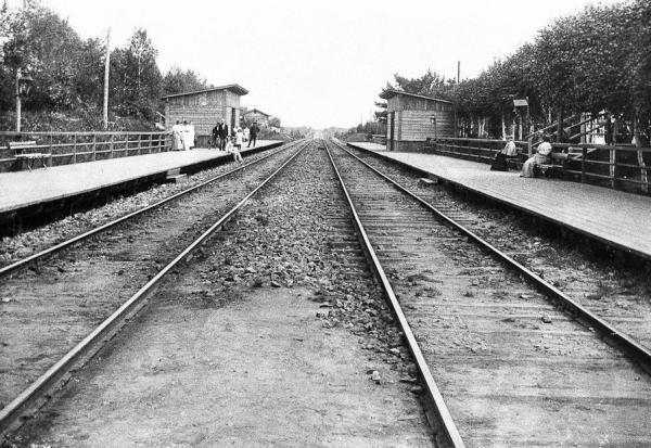 Nemchinov postal station, 1898. Source: Past.Vu