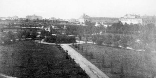 "Petrovskii Park. Photo: TV-channel ""Moskva. Doverie"""