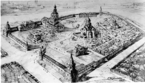 Spaso-Andronikov Monastery. Photo: Memorial Society Archive
