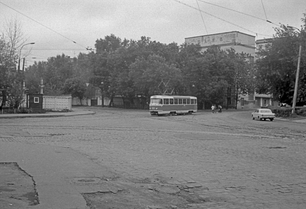 """The """"Teploeketrik"""" Factory was located on this street in the 1930s. Photo: PastVu"""