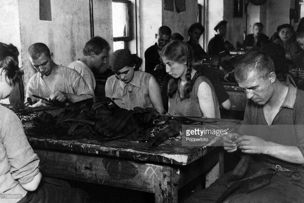Prisoners of Taganka. 1920s. Photo: gettyimages.com