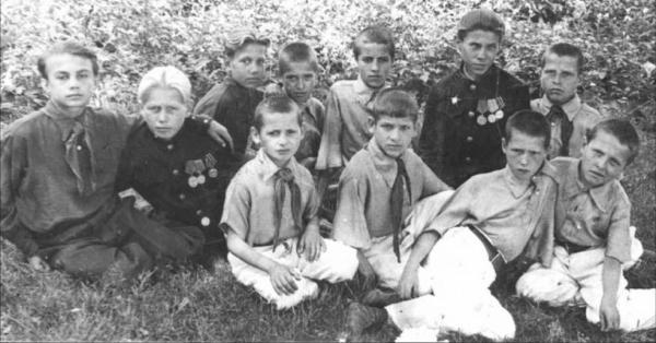 Children of the Sverdlov Orphanage, 1947.