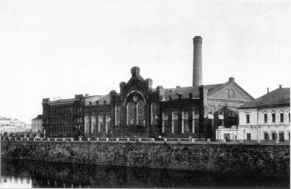 Московская электростанция. 1897–1910 гг.