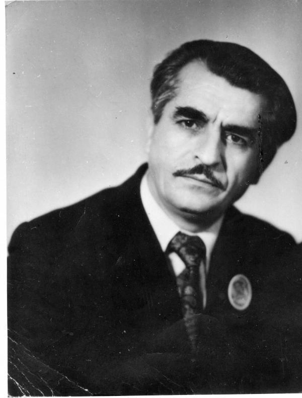 Reshat Djemilev, Crimean Tatar activist. Photo: Memorial Society Photo Archive