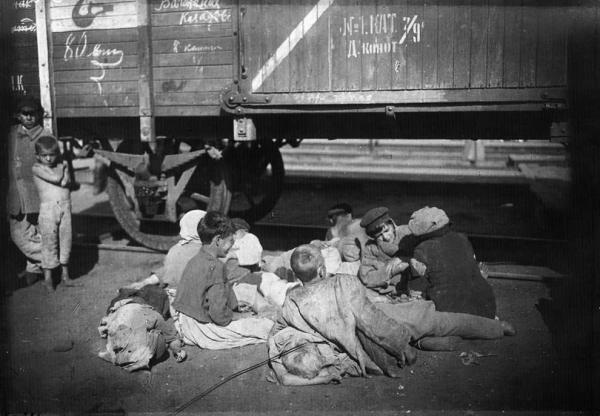 Вагон Октябрьской железной дороги. 1920 г. Фото: www.runo-lj.livejournal.com