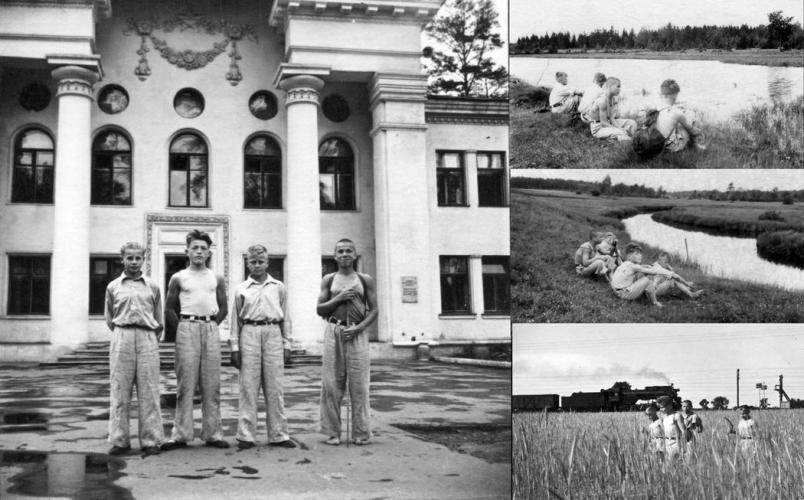Bykovskii Special Orphanage, 1954–1956. Photo: PastVu
