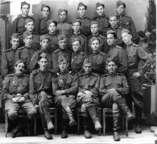 Студенты 1-го Мединститута им. Сеченова. 1950-е гг. Фото: архив Общества «Мемориал»